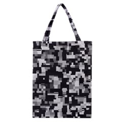 Noise Texture Graphics Generated Classic Tote Bag