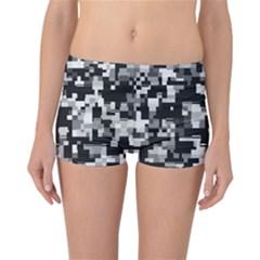 Noise Texture Graphics Generated Reversible Bikini Bottoms