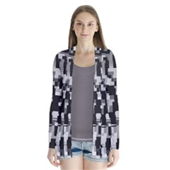 Noise Texture Graphics Generated Cardigans
