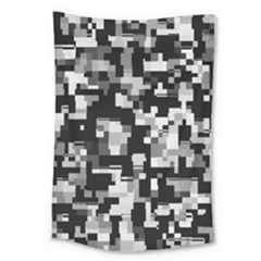 Noise Texture Graphics Generated Large Tapestry