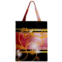 Pattern Vectors Illustration Zipper Classic Tote Bag