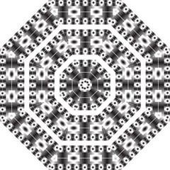 Pattern Background Texture Black Golf Umbrellas