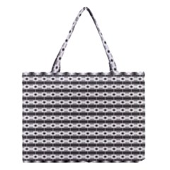 Pattern Background Texture Black Medium Tote Bag