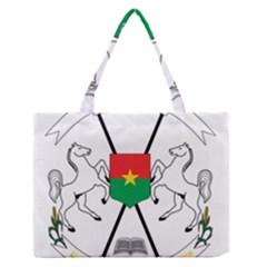 Coat of Arms of Burkina Faso Medium Zipper Tote Bag