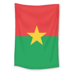 Flag Of Burkina Faso Large Tapestry