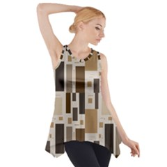 Pattern Wallpaper Patterns Abstract Side Drop Tank Tunic