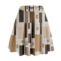 Pattern Wallpaper Patterns Abstract High Waist Skirt