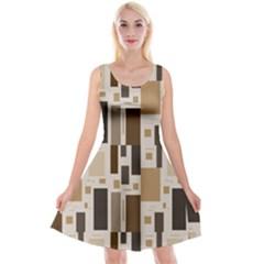 Pattern Wallpaper Patterns Abstract Reversible Velvet Sleeveless Dress