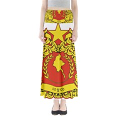 State Seal of Myanmar Maxi Skirts