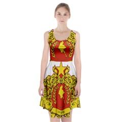 State Seal of Myanmar Racerback Midi Dress