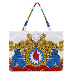 State Seal of Burma, 1974-2008 Medium Zipper Tote Bag
