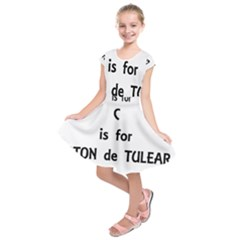 C Is For Coton Kids  Short Sleeve Dress