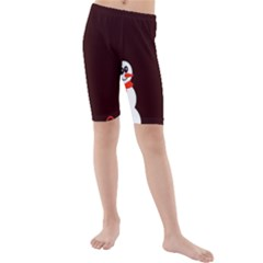 Snowman Holidays, Occasions, Christmas Kids  Mid Length Swim Shorts