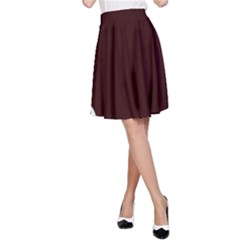 Snowman Holidays, Occasions, Christmas A-Line Skirt