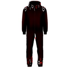 Snowman Holidays, Occasions, Christmas Hooded Jumpsuit (Men)