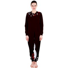 Snowman Holidays, Occasions, Christmas OnePiece Jumpsuit (Ladies)