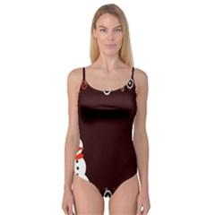 Snowman Holidays, Occasions, Christmas Camisole Leotard