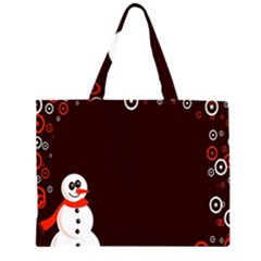 Snowman Holidays, Occasions, Christmas Large Tote Bag