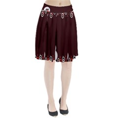 Snowman Holidays, Occasions, Christmas Pleated Skirt