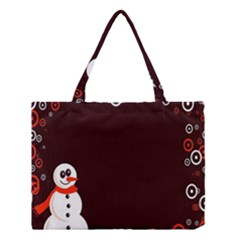 Snowman Holidays, Occasions, Christmas Medium Tote Bag