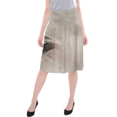 Coton De Tulear Eyes Midi Beach Skirt