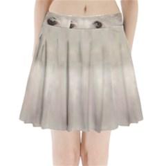 Coton De Tulear Eyes Pleated Mini Skirt