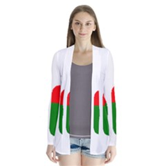 Flag In Name Coton Cardigans