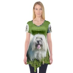 Coton In Grass Short Sleeve Tunic