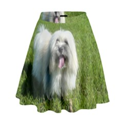 Coton In Grass High Waist Skirt