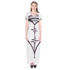 Audio Heart Tattoo Design By Pointofyou Heart Tattoo Designs Home R6jk1a Clipart Short Sleeve Maxi Dress