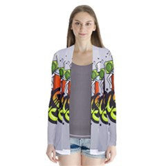 Graffiti Word Character Print Spray Can Element Player Music Notes Drippy Font Text Sample Grunge Ve Cardigans