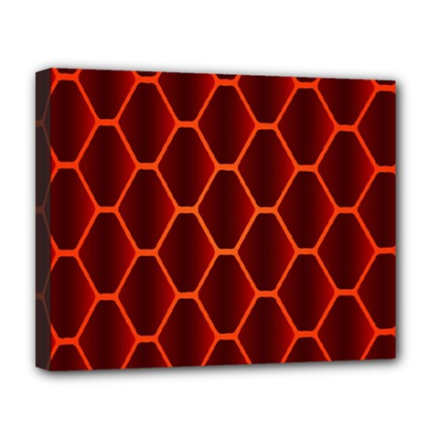 Snake Abstract Pattern Deluxe Canvas 20  x 16