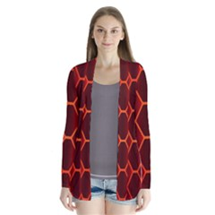 Snake Abstract Pattern Cardigans