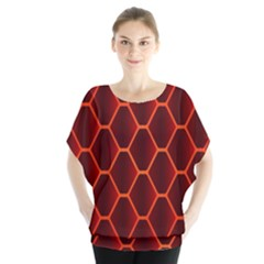 Snake Abstract Pattern Blouse