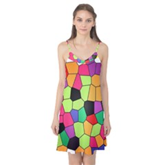 Stained Glass Abstract Background Camis Nightgown