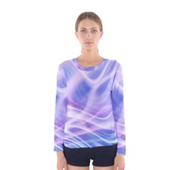 Abstract Graphic Design Background Women s Long Sleeve Tee