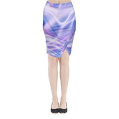 Abstract Graphic Design Background Midi Wrap Pencil Skirt
