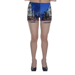Architecture Building Exterior Buildings City Skinny Shorts