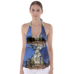 Architecture Building Exterior Buildings City Babydoll Tankini Top