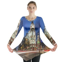 Architecture Building Exterior Buildings City Long Sleeve Tunic