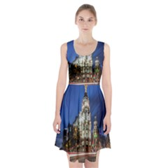 Architecture Building Exterior Buildings City Racerback Midi Dress
