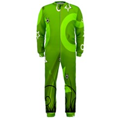 Art About Ball Abstract Colorful OnePiece Jumpsuit (Men)