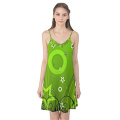 Art About Ball Abstract Colorful Camis Nightgown