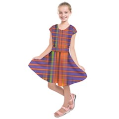 Background Texture Patterncake Happy Birthday Kids  Short Sleeve Dress