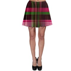 Background Texture Pattern Color Skater Skirt
