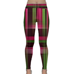 Background Texture Pattern Color Classic Yoga Leggings