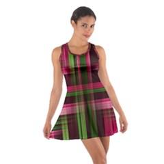 Background Texture Pattern Color Cotton Racerback Dress
