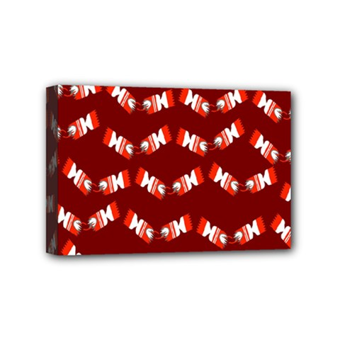 Christmas Crackers Mini Canvas 6  x 4