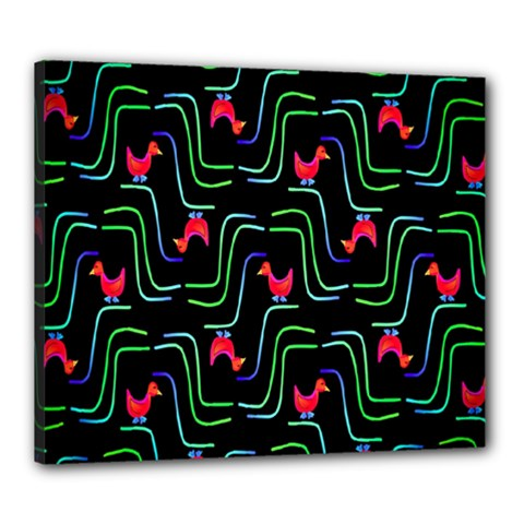 Computer Graphics Webmaster Novelty Pattern Canvas 24  x 20