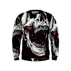 Death Skull Kids  Sweatshirt